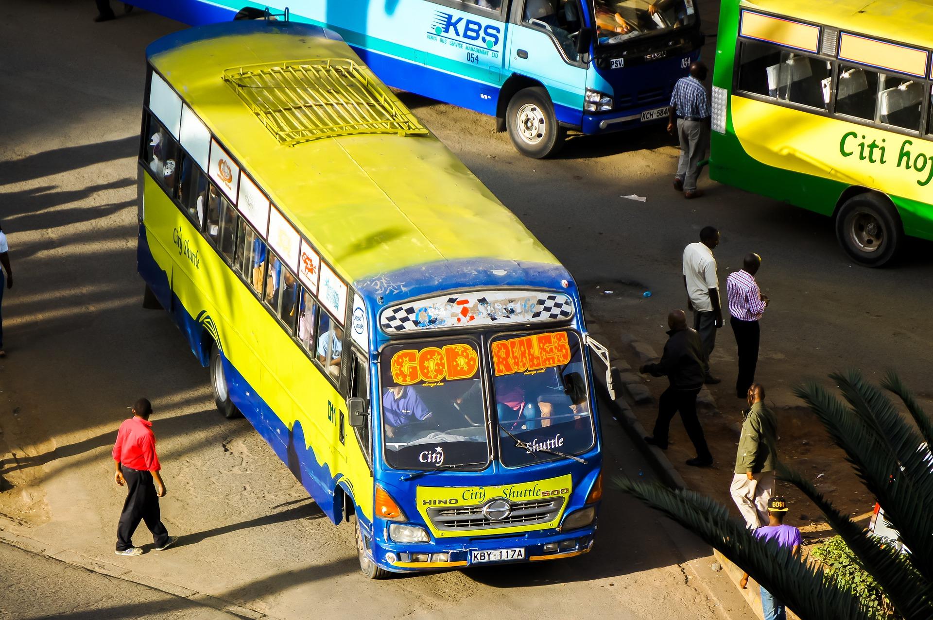 Autobús en Nairobi