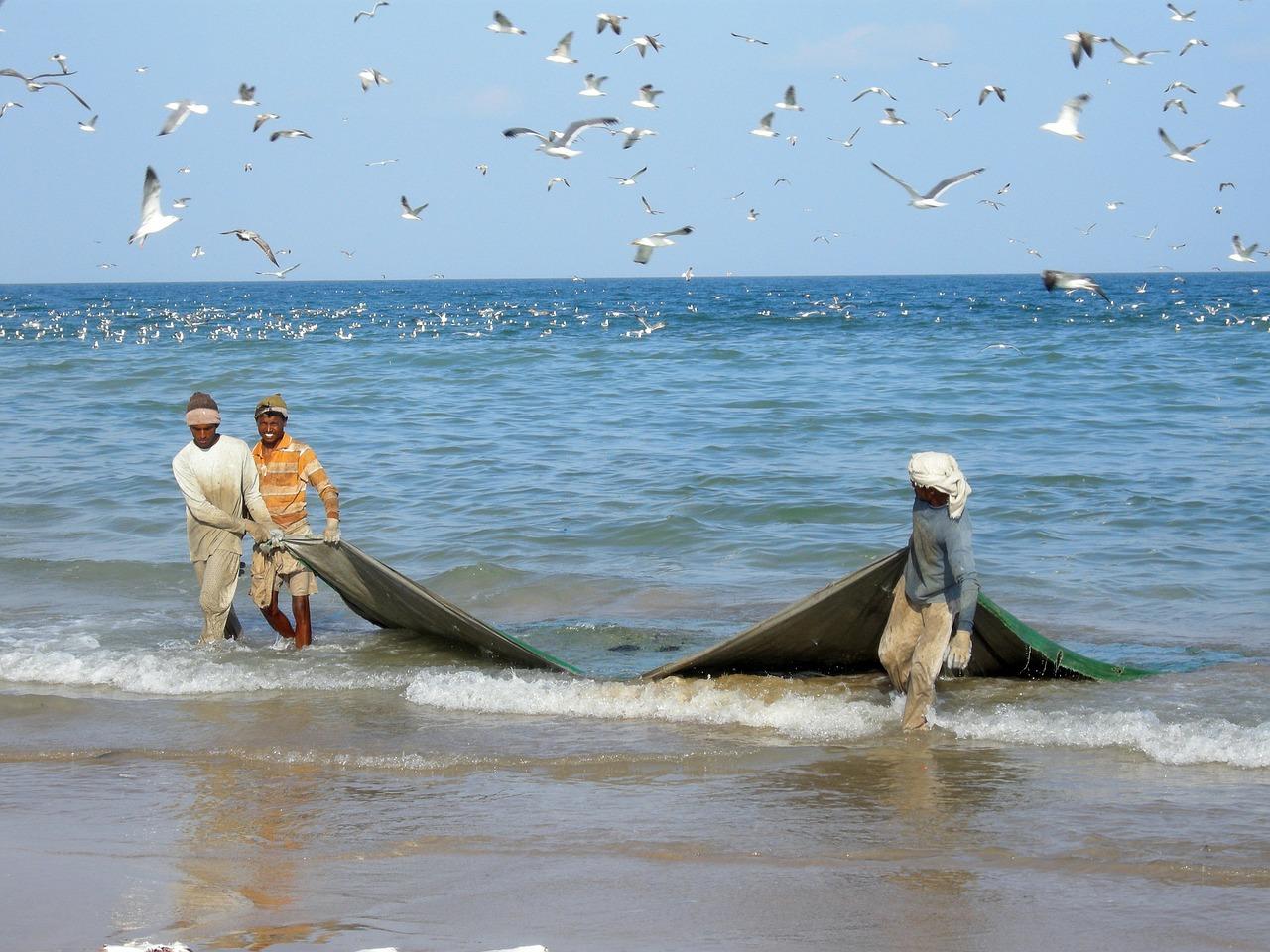 Omán pescadores