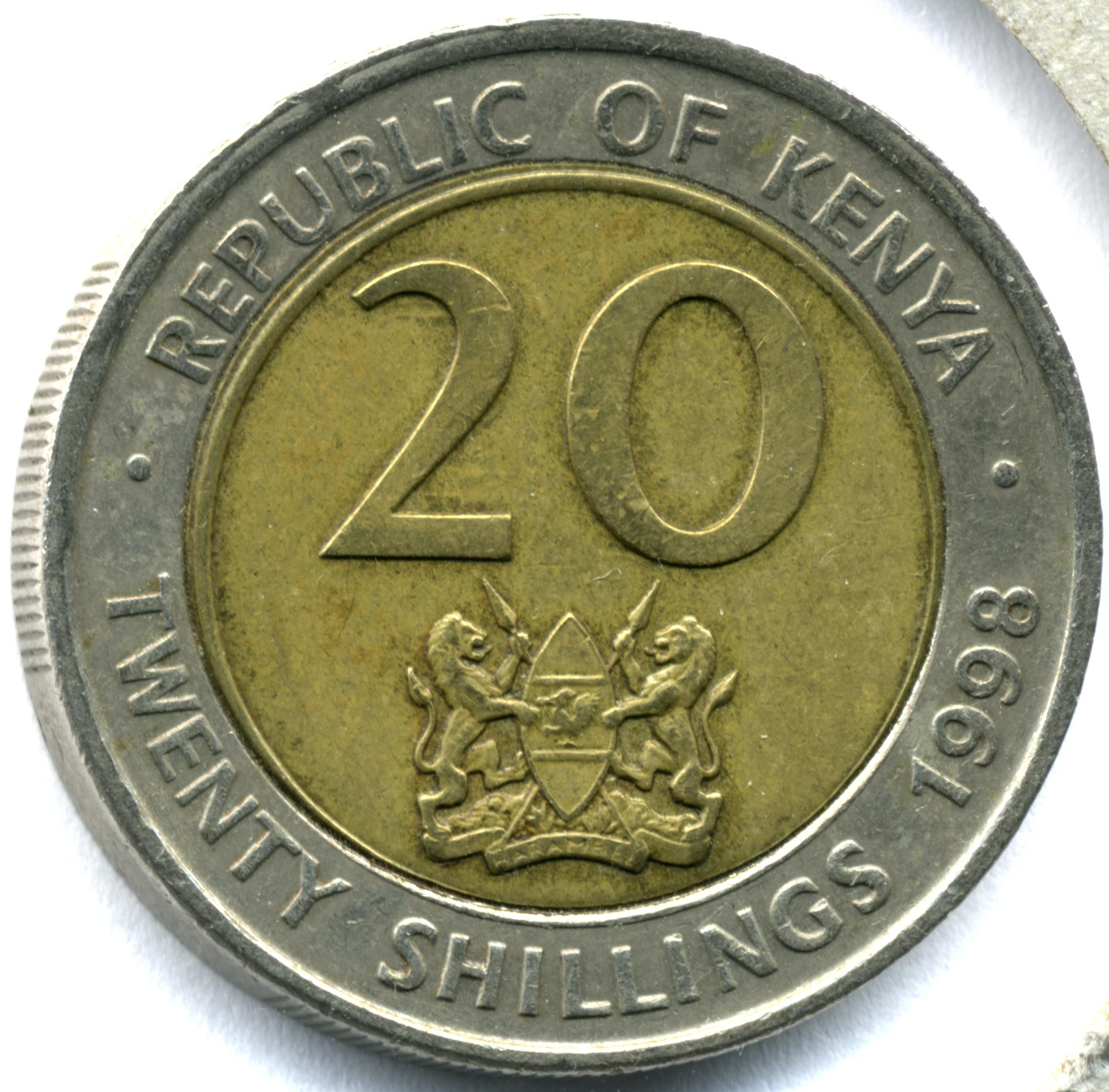 Veinte chelines kenianos