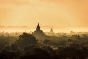 Main cities of Myanmar