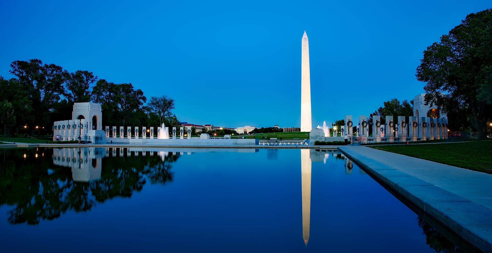No te puedes perder el monumento a Washington
