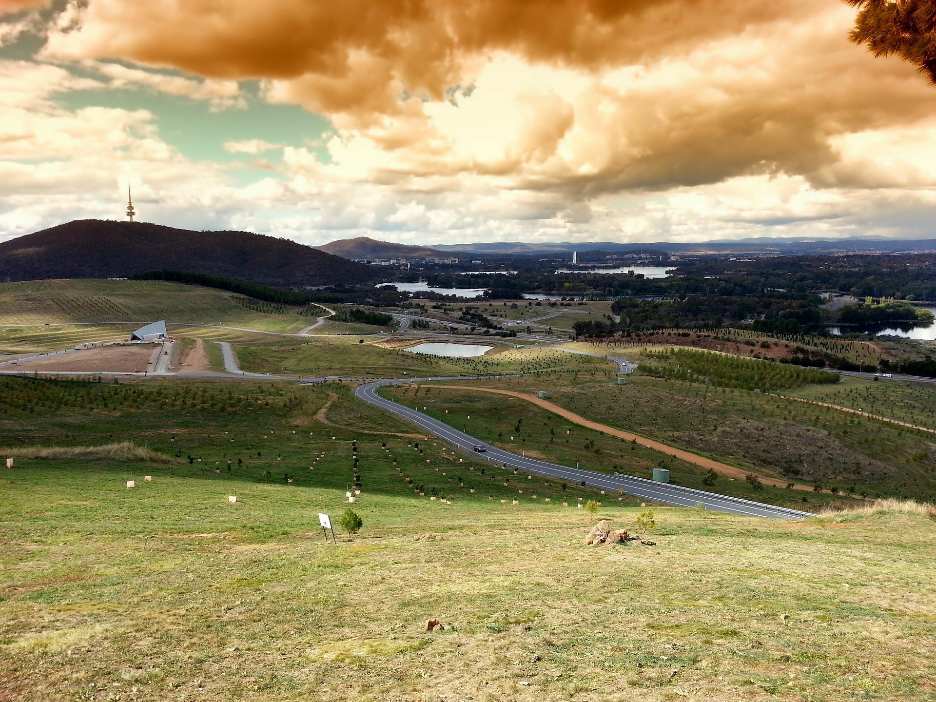 Naturaleza en Canberra