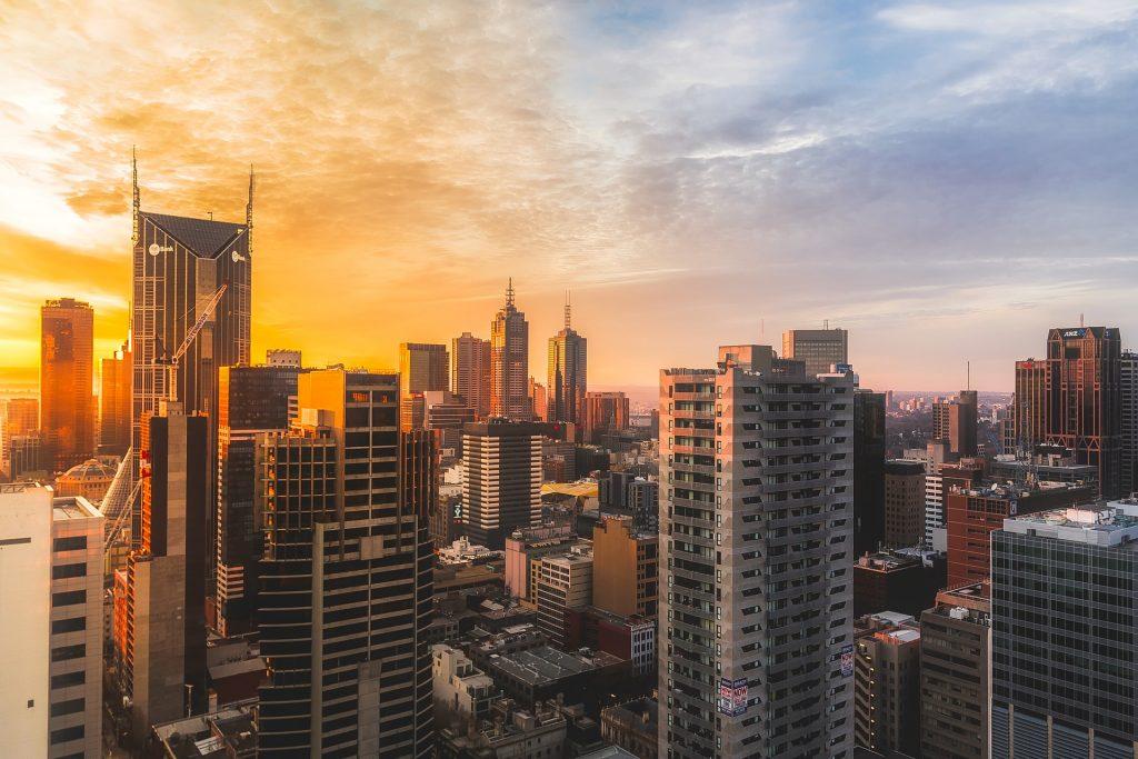 Main cities of Australia